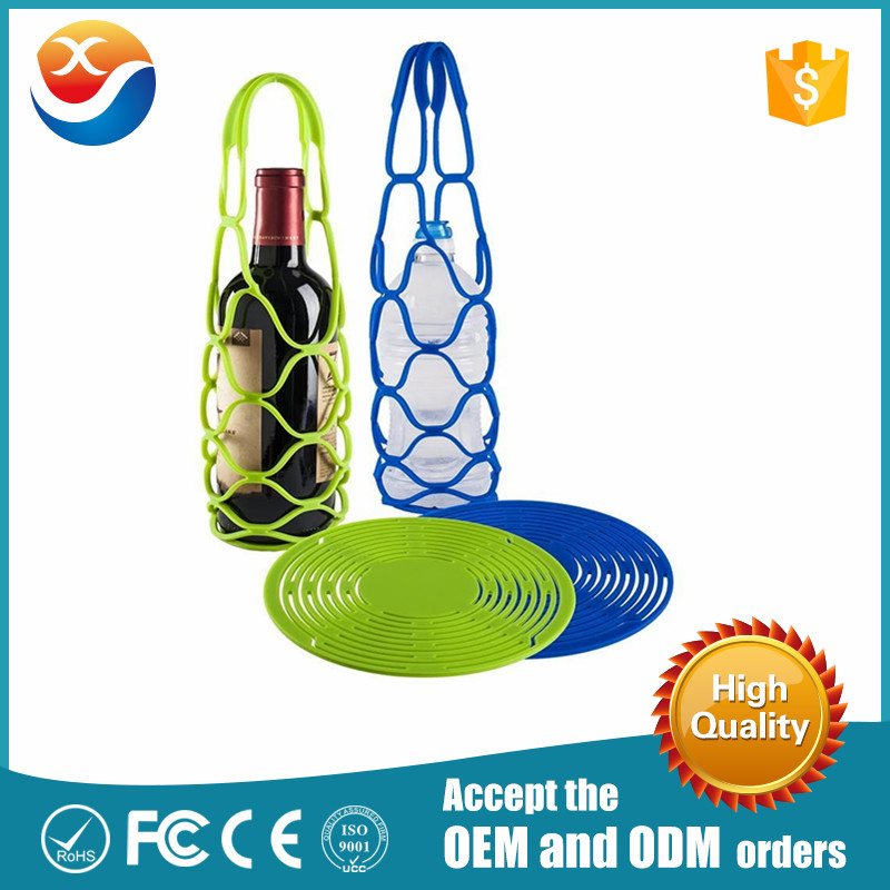 Multi-purpose Cheap Silicone wine mesh bag
