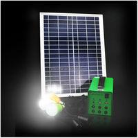 20W Solar Lighting Power System 6 Port, Solar Ups System 12Ah Solar Generators China