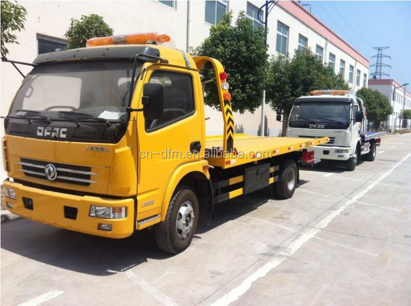 2016 cheap 1 10tons dongfeng 4x2 6wheels road wrecker truck tow truck for sale view right hand. Black Bedroom Furniture Sets. Home Design Ideas