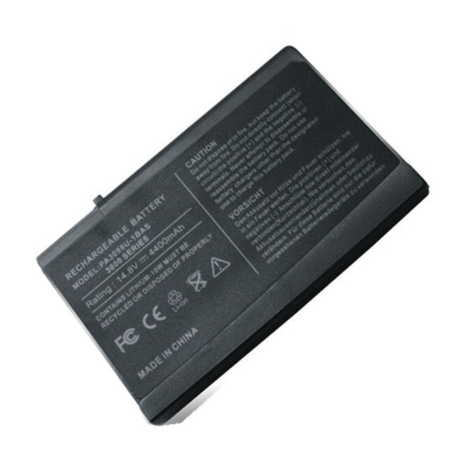 Universal Laptop Battery For TOSHIBA LAPTOP RECHARGEABLE BATTERY 14.8V 3900 PA3098U-1BRS