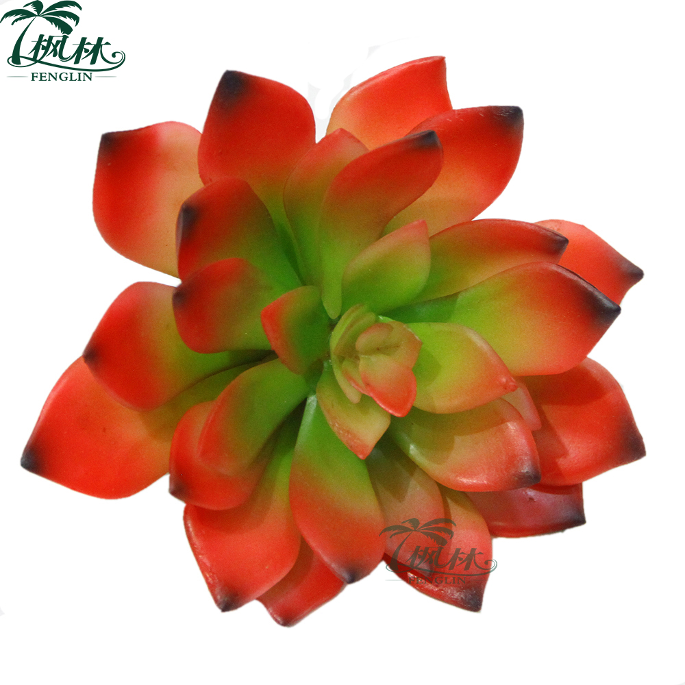 factory direct sell artificial rubber plant tropical mini artificial succulent plant for home decoration