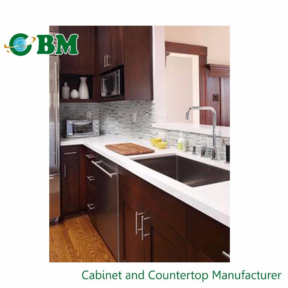 Fuzhou Cbm New Design Ready Made Kitchen Cabinet With Sink