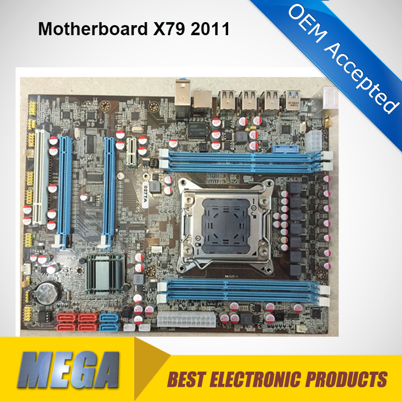 100% Working Desktop X79 Motherboard Lga 2011 Ddr3 For I7 Cpu ...