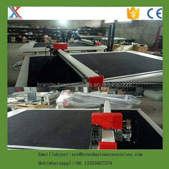 Cnc Car Mats Cutting Machine For Pvc Coil Mat Leather And Rubber Car