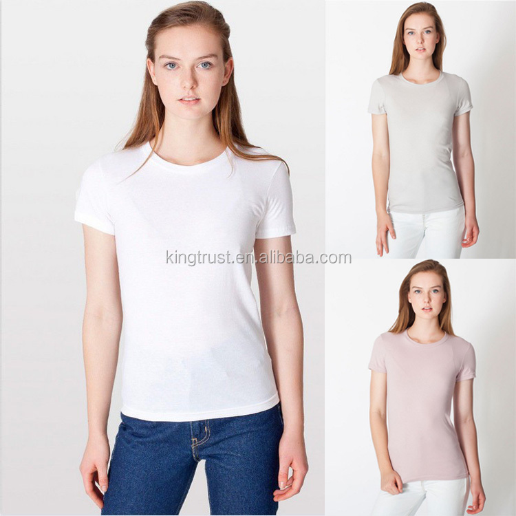 Fancy Women Slim Fit T Shirt,High Quality 100 Cotton Mens T Shirts ...