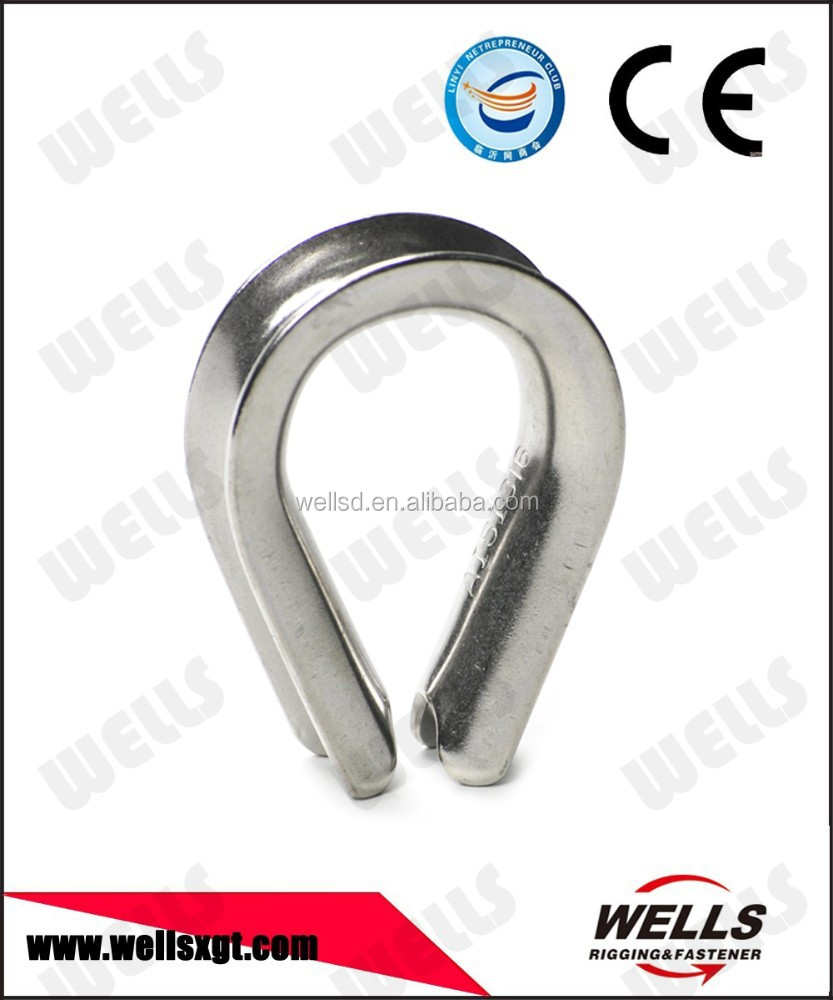 Stainless steel din3091 ductile iron thimble
