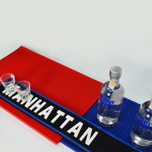 High quality low price wholesale Hot sale custom bar mats