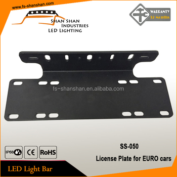 License Plate With Top Quality Fit For Eurocar
