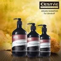 Natural organic hair shampoo with pure argan oil essence special for Dandruff Hair