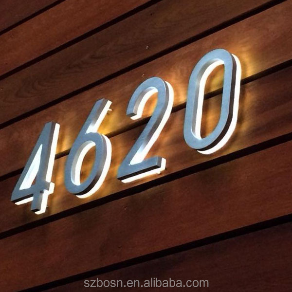 High Quality Customized Backlit Led Acrylic Letters For