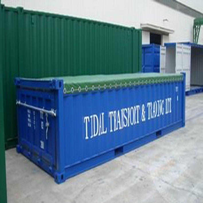 20' half height container