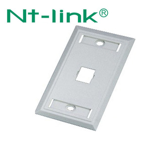 US Type Single Port Network RJ45 Faceplate 70*115mm