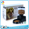 Top Quality PF-19 Automatic Pet Feeder LCD Digital Display Dog Cat Feeder Food Dish Dispenser With Recorder with Retail Pacakge