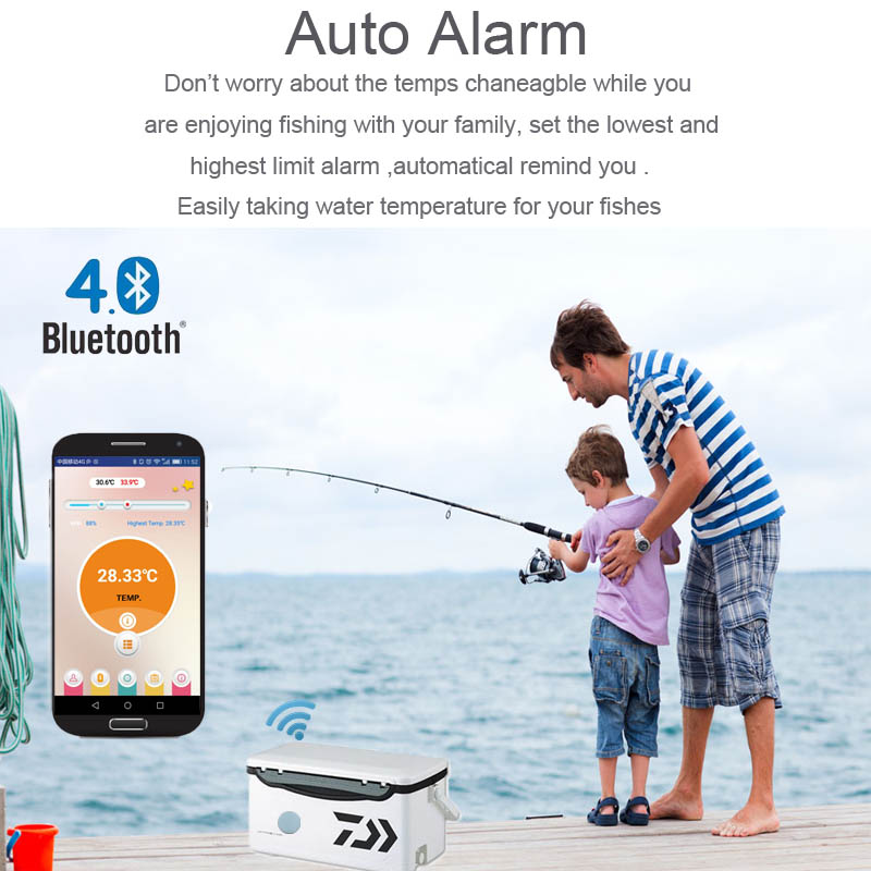 High Quality Waterproof thermometer high accuracy for fishing time