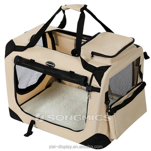 Songmics Hand mesh bike car oxford fabric dog treat training pouch bag small pet carrier