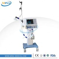 MINA-V003 Humidifier with Temperature Adjustment Hospital Air Ventilator Machine