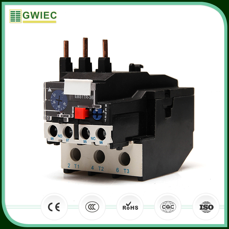 GWIEC Alibaba Best Sellers Lr2-D13 Phase Failure Protection Thermal Overload Relay 1.0A
