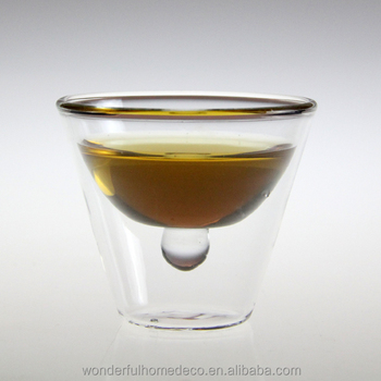 Beau 2oz Heat Resistant Insulated Glass Espresso Cups/handmade Espresso Cup/clear  Glass Espresso Cups