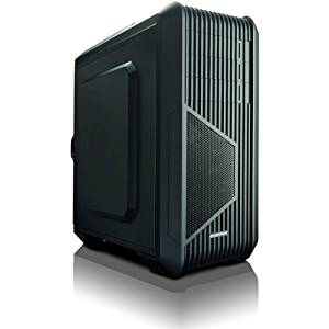 "Enermax Eca3310a. B Computer Case . Mid. Tower . Black . Rubber, Leather . 10 X Bay . 2 X 4.72"" X Fan(S) Installed . Micro Atx, Atx Motherboard Supported ""Product Type: Accessories/Computer Casings"""