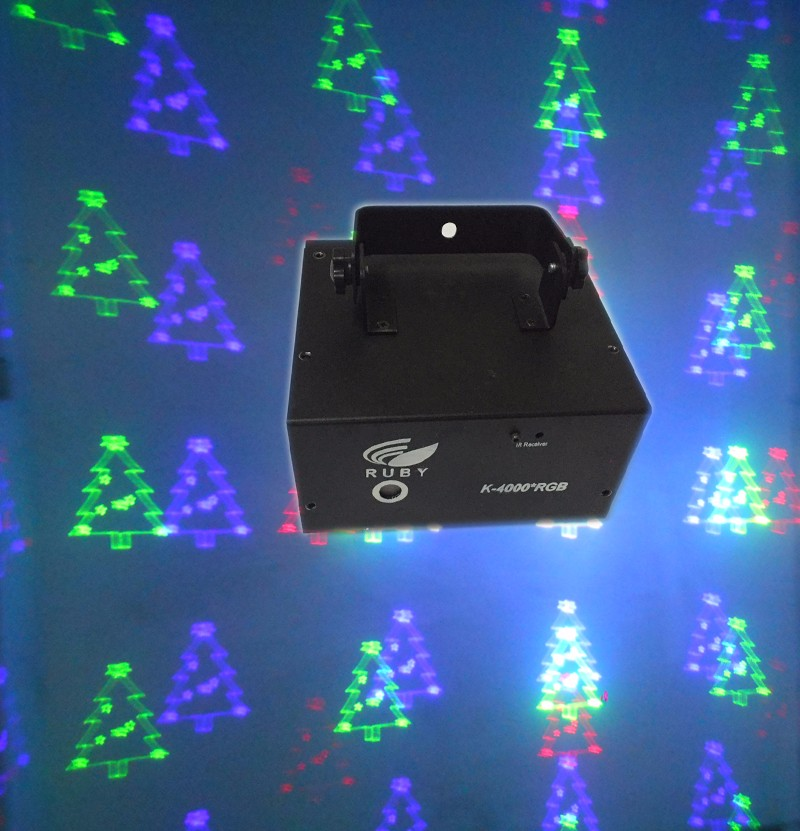 programmable animation 300mw 3d laser projector