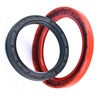 SANSHI rubber factory supply Silicon rubber skeleton rubber Oil Seal for Gearbox