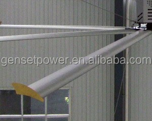 HVLS Air Cooled Large Industrial inverter ceiling fan
