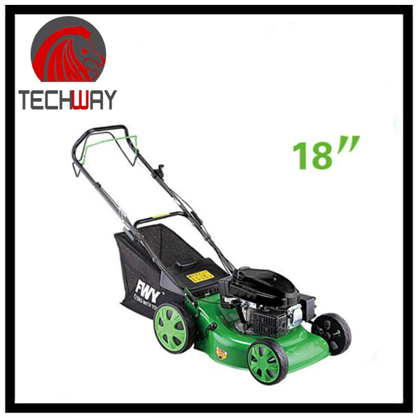 "high quality lawn mower body petrol 18"" portable lawn mower"