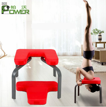 Handstand chair Inverted chair practice Yoga Poses training machine
