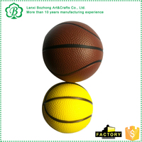 hot sale pu foam ball mini basketball toy for kids game