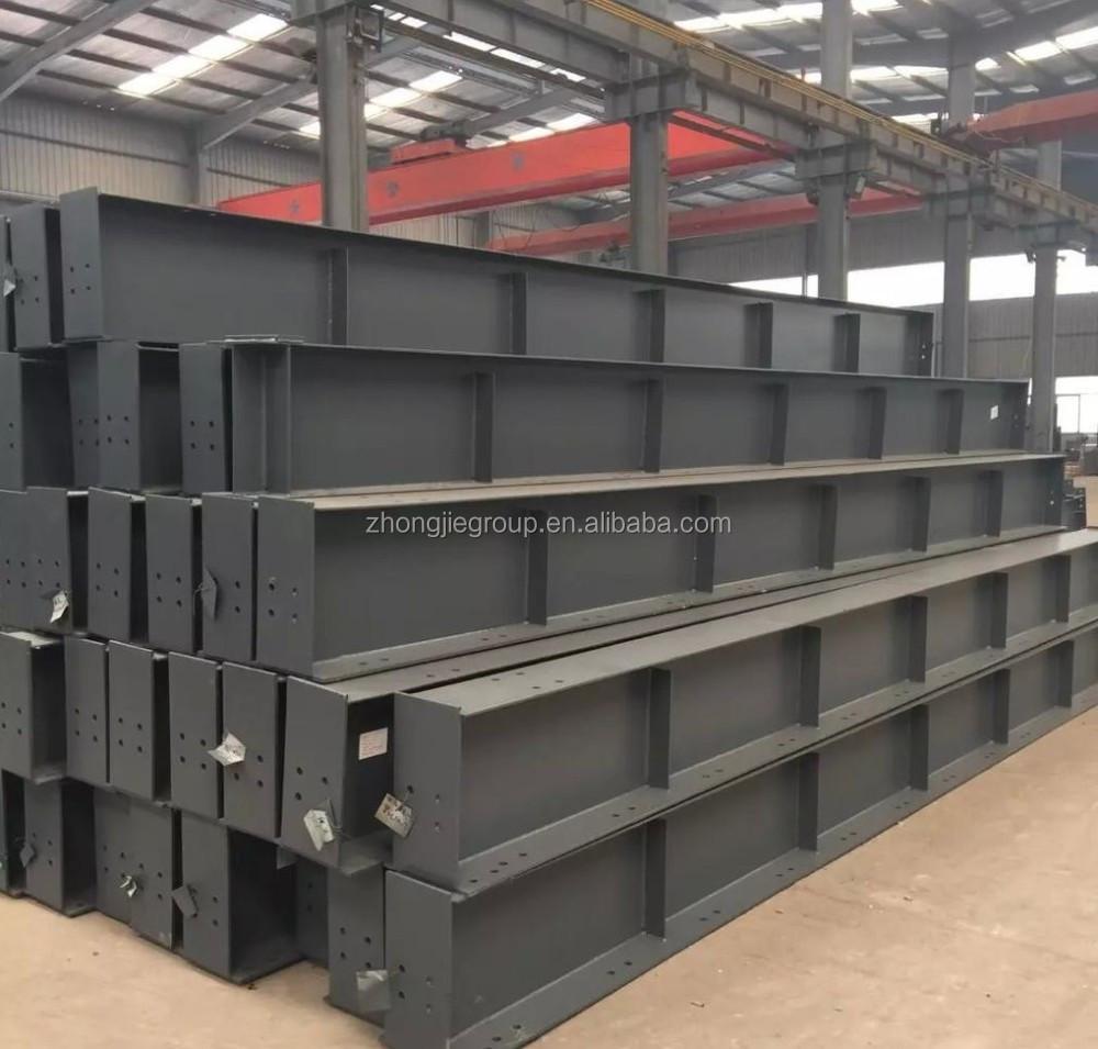 H steel beam column c purlin steel structure buildings for Prefab columns