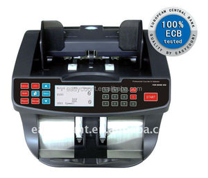 EC960 GBP / EURO /USD Mix Cash Bill Money Currency Counter With UV MG Detection Counting Machine