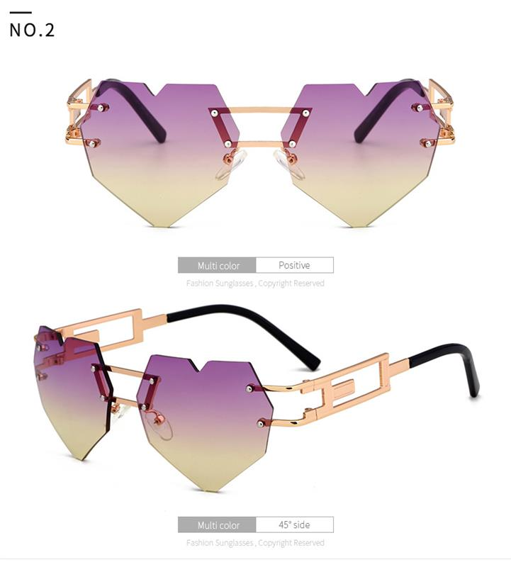 2017 Custom 100 uv Sunglass Gradient color italy design sunglasses china wholesale sunglasses