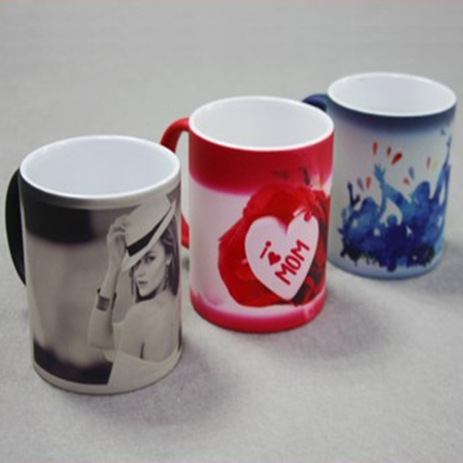 High quality Magic Mug Coffee Ceramic Mug 11OZ Sublimation Color Changing Mugs