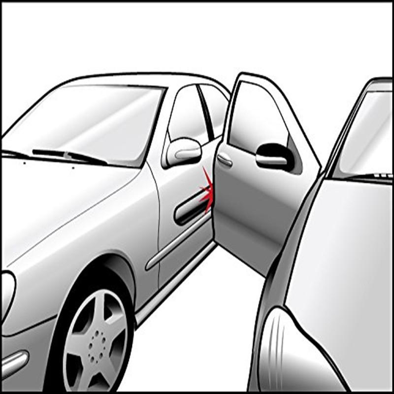 Magnet removable car door bumper guard
