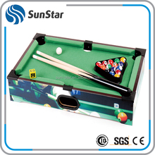 competitive price mini biliards game used pool table for sale