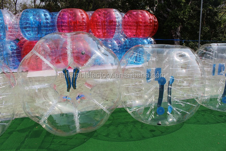 Human size inflatable bubble soccer ball for sale