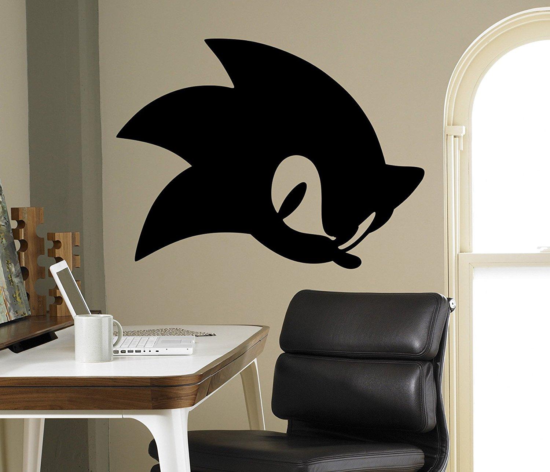 Buy Sonic Hedgehog Vinyl Decal Sonic Wall Vinyl Sticker Video Game Cartoons Home Interior Children Kids Room Decor 19 Snc In Cheap Price On Alibaba Com