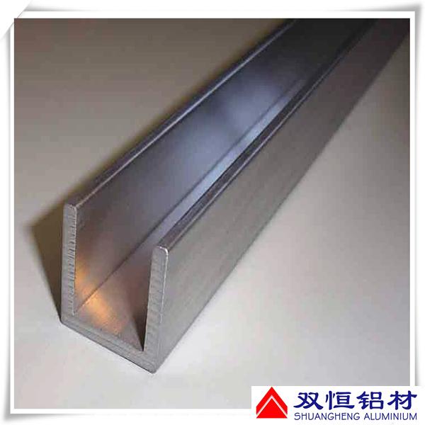 Factory Stock Aluminum Channel Sizes U Shaped Aluminium