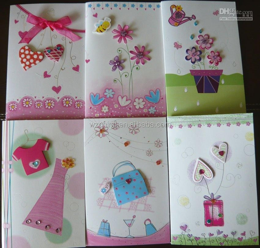Greeting 3D card for kids