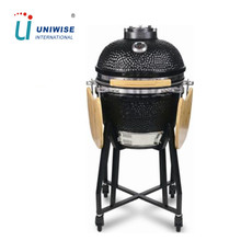 Ovale di Ceramica Griglie BARBECUE All'aperto <span class=keywords><strong>Grande</strong></span> Nero <span class=keywords><strong>Uovo</strong></span> <span class=keywords><strong>Uovo</strong></span> In Ceramica Grill In Ceramica Barbecue Kamado Fumatore