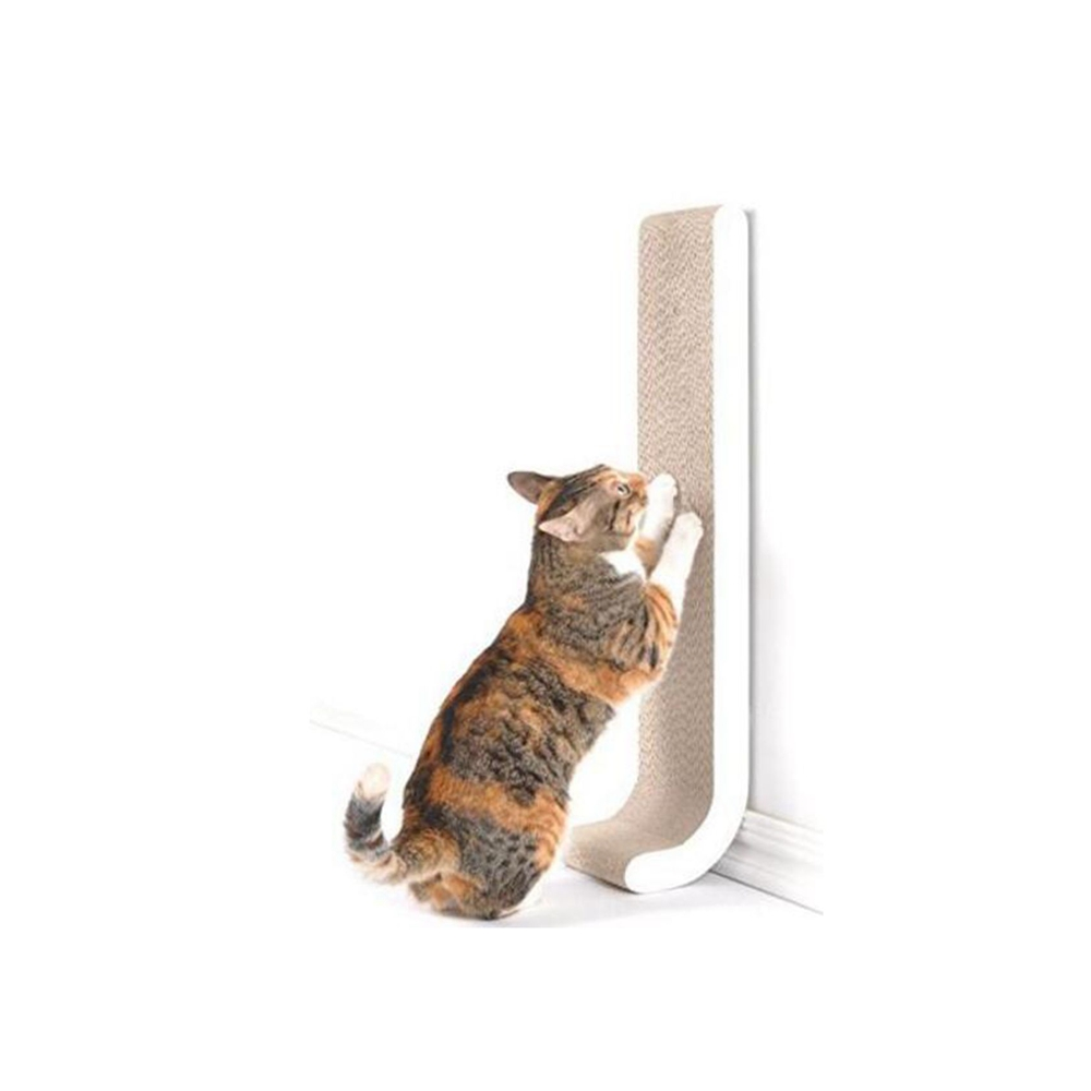 gatito del gato de juguete cama Rascar Cartón Ondulado Rascador poste Polo