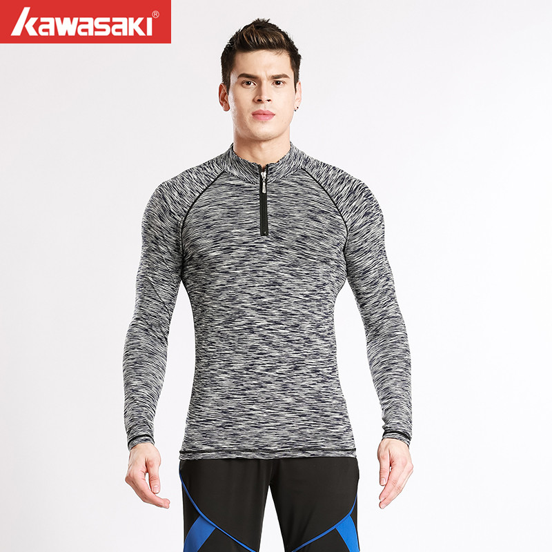 Wholesale Custom Men's Long Sleeve Fitness Clothing Men Compression Wear