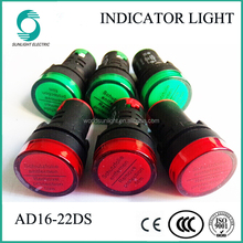 Wholesale AD16-16SM 16mm dc ac selectable voltage indicator led ...
