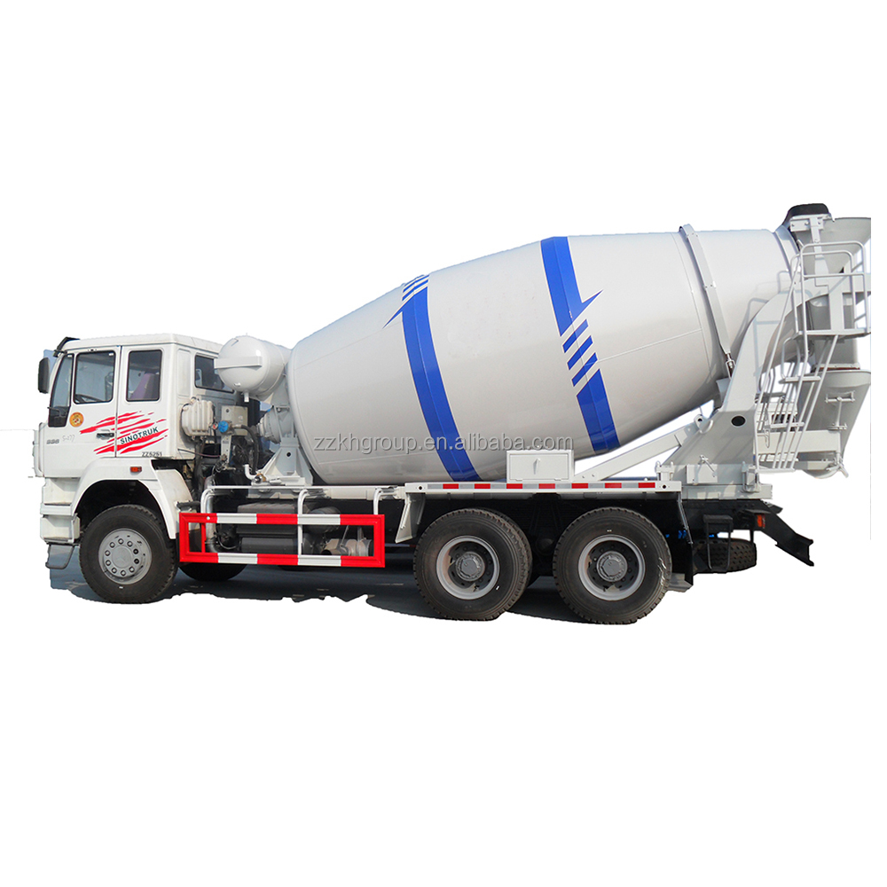 Diesel engine 8x4 HOWO 16CBM 371hp concrete mixer truck price for sales