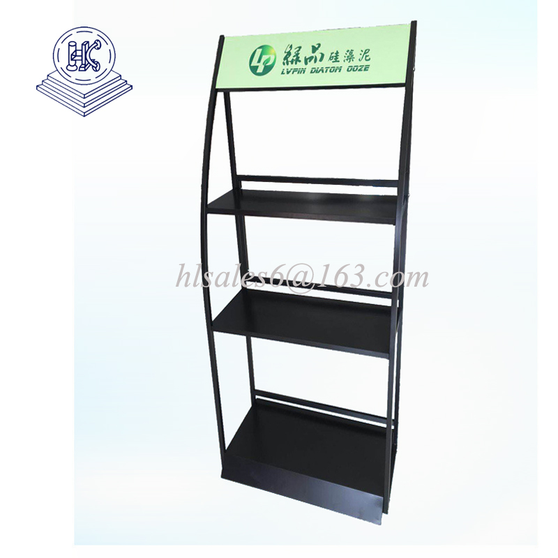 metal Facial mask  display rack