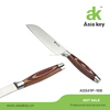 pakka wood handle stainless steel Japanese utility knife for sale