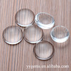 crystal clear glass oval dome cabochon shape beads size various available polymer clay cabochons
