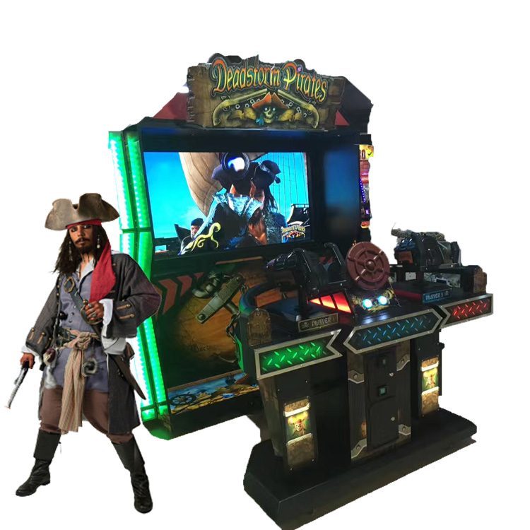 Deadstorm Pirates Coin Operated Game Machine Shooting Simulator Arcade Game  Machine Video Games For Sale - Buy Coin Operated Game Machine,Shooting