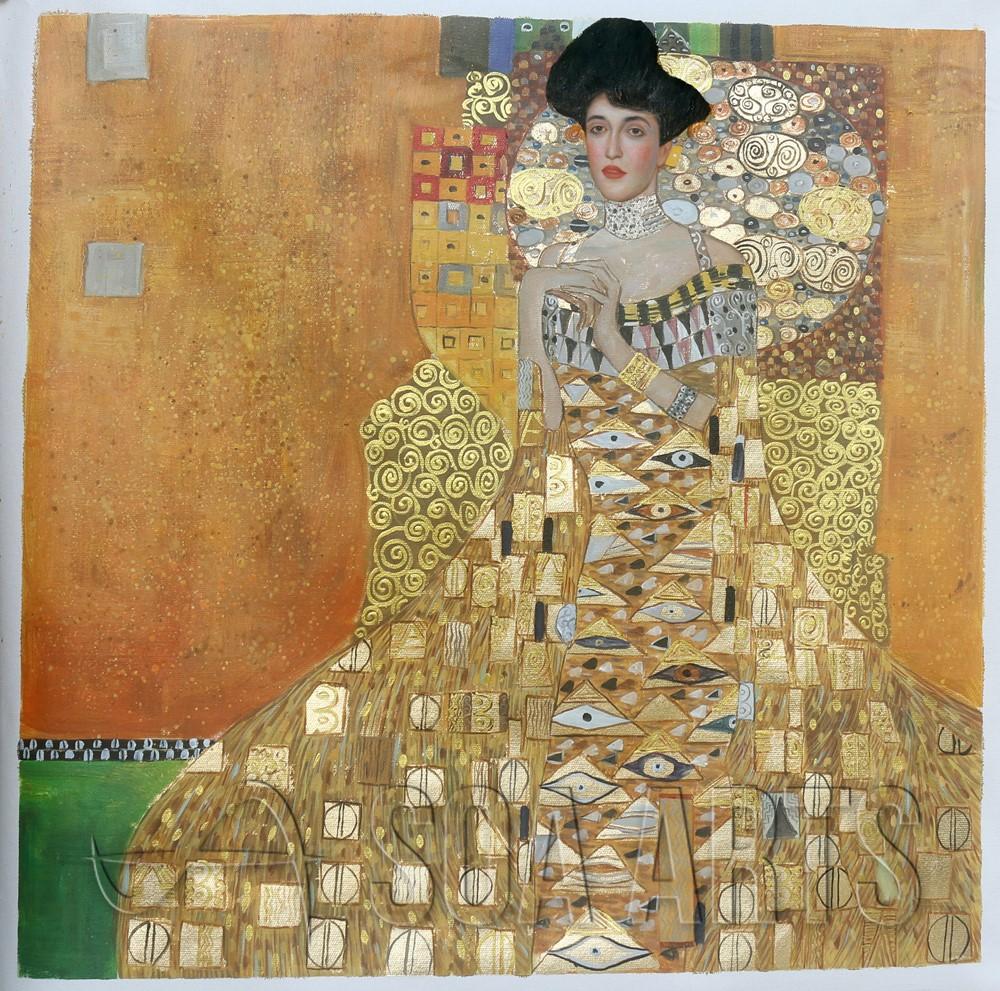 Adele Bloch-bauer I Durch Gustav Klimt U2art Handgemachte Ölgemälde Probe -  Buy Adele Bloch-bauer I,Handgemachtes Ölgemälde,Gustav Klimt Product on  Alibaba.com