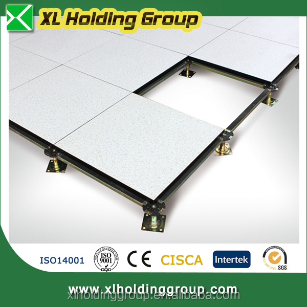 1.2mm HPL ATFLOR high quality Calcium Sulphate raised access flooring system for 5A office